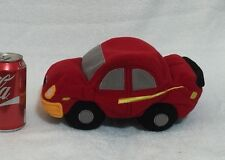 "Disney  Cars Microbead Red Plush Stuffed Soft 11"""