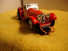 Vintage Jaguar SS-100 slot car 1/32 offered by MTH