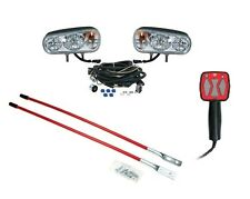 Snow Plow UPGRADE KIT Halogen Headlight Kit, Hand Held Controller, Blade Markers
