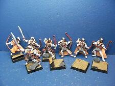 7 guerrieri ombra dell'alta elfi Dipinta Metallo