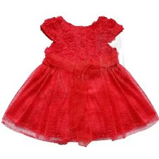 Xmas Baby Girl Petals Dress + Flower Headband Wedding Birthday Party Outfit Gift