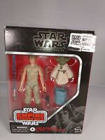 Hasbro Star Wars The Black Series Luke Skywalker and Yoda (Jedi Training) Action