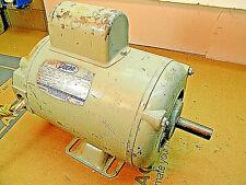 Doerr 2 hp., 1 ph, 220v motor. 3450 rpm, Mod. MC-58, 5/8 shaft, Machinist shop