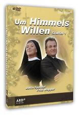 4 DVDs * UM HIMMELS WILLEN - STAFFEL 1 | FRITZ WEPPER ~ MB # NEU OVP ^