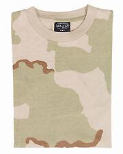 MIL-TEC Tarn T-Shirt  Army Shirt Tarn-Shirt 3-col.-desert T-Shirt shortsleeve