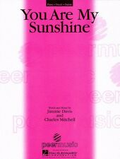 You Are My Sunshine Sheet Music Piano Vocal NEW  000351632
