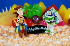 Disney Pixar Toy Story Cowboy Woody Buzz Lightyear Figure Cake Topper K795_K1031