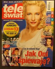"CATE BLANCHETT  mag.21/2009 FRONT cov ""Tau ming chong"", Jet Li,Takeshi Kaneshiro"