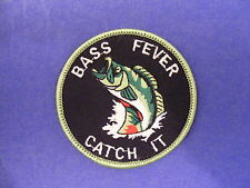 Bass fever, catch it patch