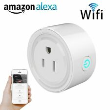 WiFi Smart Plug Socket Power Outlet Time Switch For Apple iPhone Alexa Android