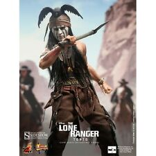 """HOT TOYS 1/6 SCALE 12"""" THE LONE RANGER - TONTO - JOHNNY DEPP - SIDESHOW"""