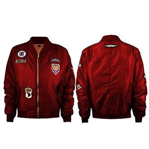 Kids Girls Boys New MA1 Padded Pilot Biker Bomber Coat Jacket UK Top Age 7-13 Yr