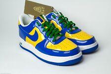 Nike Air Force 1 Premium 2006 BRAZIL WORLD CUP ROYAL BLUE YELLOW GREEN