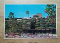 Printed Postcard - Maui Hawaii - Sheraton Maui Resort Hotel Kaanapali Beach