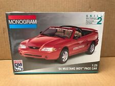 MONOGRAM 1/25 SCALE 1994 MUSTANG INDY PACE CAR - SEALED MODEL KIT