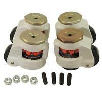 55057 4 PEZZI Set Rotante Resistente Macchina Livellamento Rotelle Ruote 40 a
