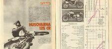 1977-1978 Husqvarna 125 CR Husky Motorcycle Test 7-Page Article