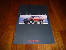 Toyota 4 Runner Prospekt 10/1993