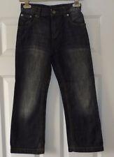 boys Black Denim Jeans - Age 8 - Excellent condition