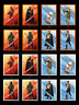 8x ILLUSTRATED CHARACTERS Wave 2 ORANGE SET Topps STAR WARS DIGITAL CARD TRADER