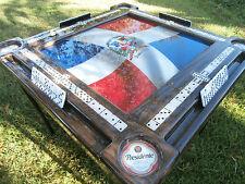 Domino Tables by Art with Bandera de la Republica Dominicana