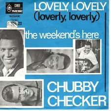 7inch  CHUBBY CHECKER lovely lovely HOLLAND EX / SOC   (S0711)