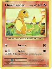POKEMON XY EVOLUTIONS CARD - CHARMANDER 9/108
