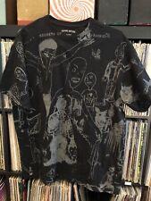 "FUCKINGAWESOME T shirt XL Rare Outsider Art Secrets "" Pyramidill"" All Over Print"