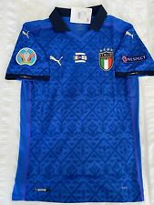 Euro 2020 Final Italy home Soccer Jersey- 2021/22- size XL