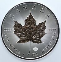 2020 Canada Maple Leaf 1 oz Silver 9999 Argent Pur Coin $5 Canadian ounce JD732