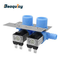 285805 Water Inlet Valve with Bracket for Whirlpool & Kenmore Washer by Beaquicy