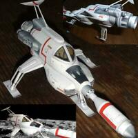 UFO Interceptor Paper Model DIY Handmade 3D Paper Model Production Gift F5S1