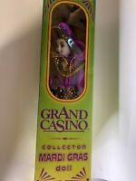 Grand Casino Mardi Gras Collector's Doll Harlequin Jester Second Edition