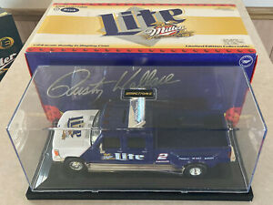 1/24 Rusty Wallace Miller Lite Racing 1997 Ford Dually Truck #2 Diecast Bank