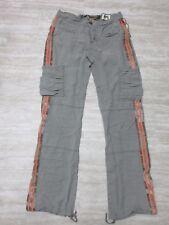 NEW Da-Nang Surplus Women's Casual Pants Ankle Drawstring ASH SKG500T1 Sz: XS