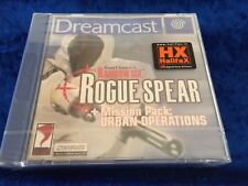 Rainbow Six Rogue Spear NEW for PAL Dreamcast Factory Sealed - Urban Ops 6