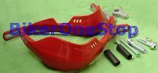 WE26045 - HANDGUARDS MotoX MotoCross Hand Guards Metal Reinforced RED New