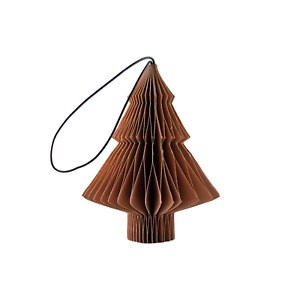 NORDIC ROOMS | New Christmas Ornament Brandy Rose Paper Tree
