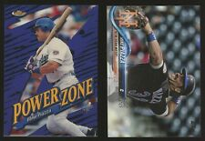1998 Finest Power Zone 15 Mike Piazza + 2018 Topps SP