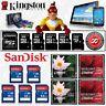 Carte mémoire KINGSTON / SANDISK 4 8 16 32 64 Go Gb Format SD Micro SDHC SDXC CF