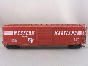 Robin's Rails/Bev-Bel - Western Maryland - 50' S/D Box Car +Wgt # 35108