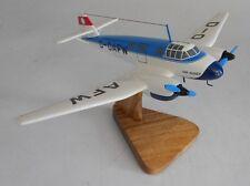 Ago Ao 192 Kurier Light Transport/Utility Aircraft Desktop Wood Model Regular
