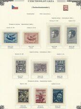 1951 Year Set, Mi. 643 - 700, MNH, Postfrisch **, (58 items)