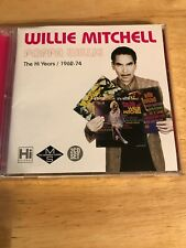 Willie Mitchell Poppa Willie 2 CD The Ho Years 1962-74 Import VG+ Condition