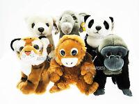 Peluche Posh Paws Lamo en via D'Extinction Tigre Panda Gorille Orang-Outan Ours