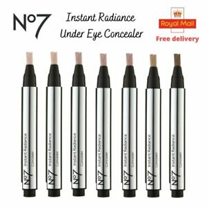 No7 Instant Radiance Under Eye Dark Circle Concealer Pick your Shade Brand NEW