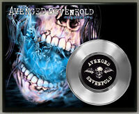 Avenged Sevenfold 45 Record Poster Art Music Memorabilia Plaque Wall Decor