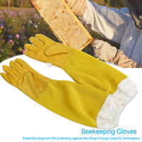 Beekeeping Gloves Goatskin Bee Keeping With Vented Beekeeper Long Sleeves G1N4
