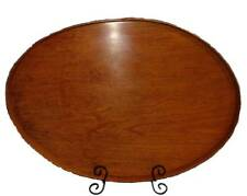 Shaker Serving Tray #13 with Cherry Band and Cherry Bottom, Lacquer Finish