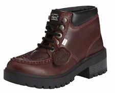 Kickers Kick Mando Ladies Boots - Dark Red